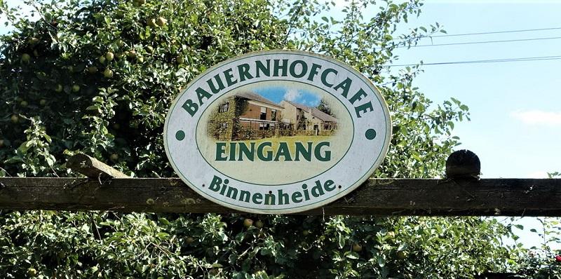 Bauernhofcafe Binnenheide Foto: ADFC Dinslaken-Voerde