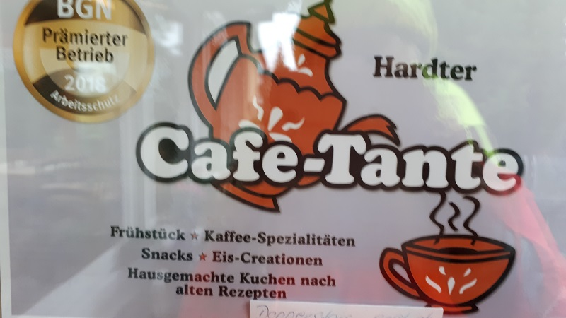 Hardter Cafe Tante Foto: Anne Beier, ADFC