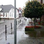 Im Regen auf Radtour Foto: ADFC Dinslaken-Voerde