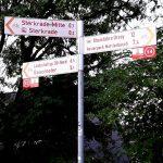 Zwischenwegweiser Foto: ADFC Dinslaken-Voerde