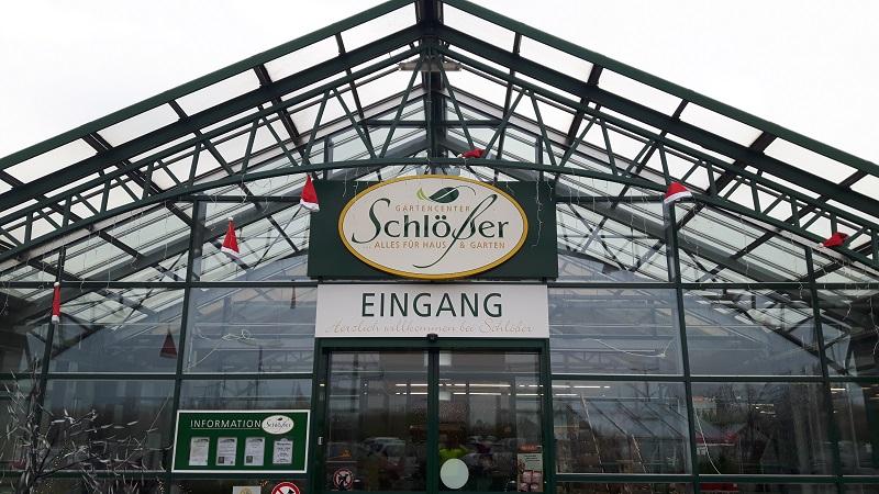 Gartencenter Schloesser Foto: Wolfgang Beier, ADFC